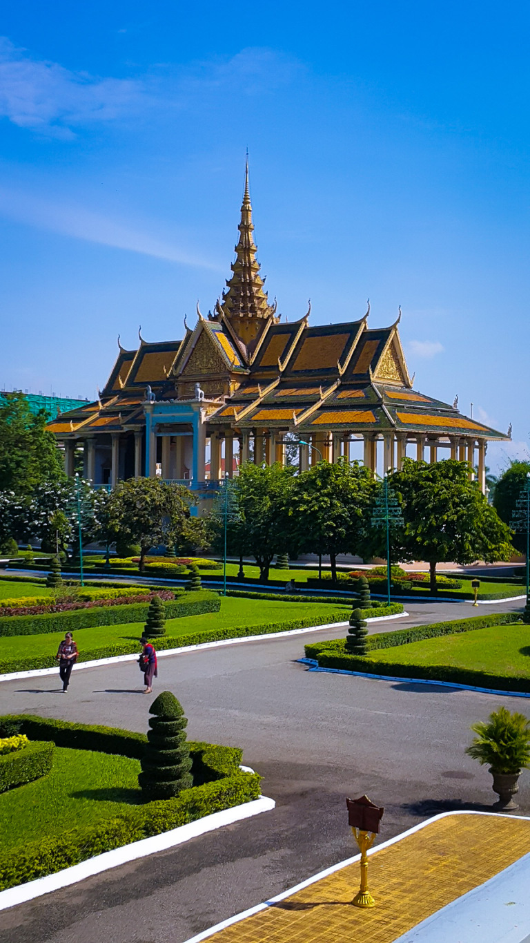 While in Phnom Penh Visit The Royal Palace And The Silver Pagoda