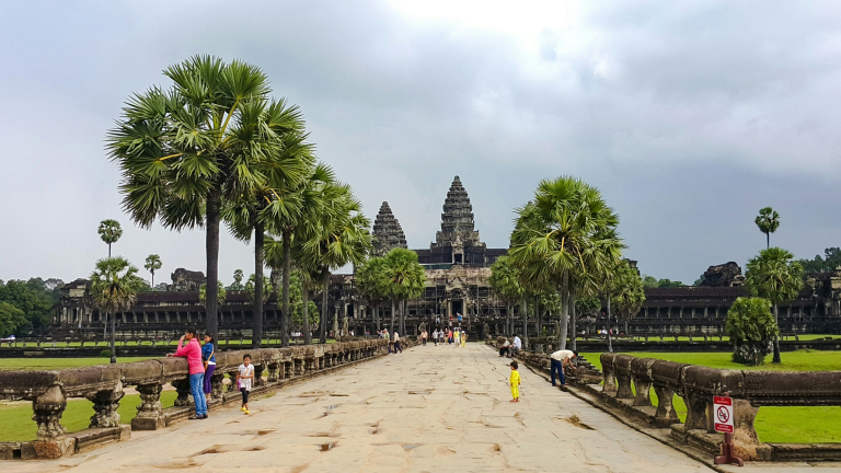 Our Visit To The Largest Religious Monument In The World, Angkor Wat.