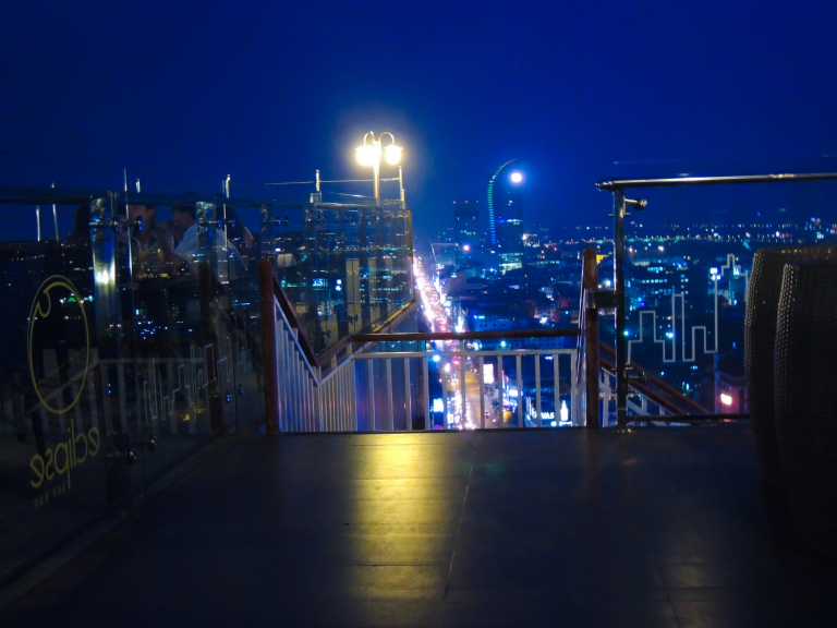 Eclipse Skybar and Restaurant | For a great panoramic view of Phnom Penh